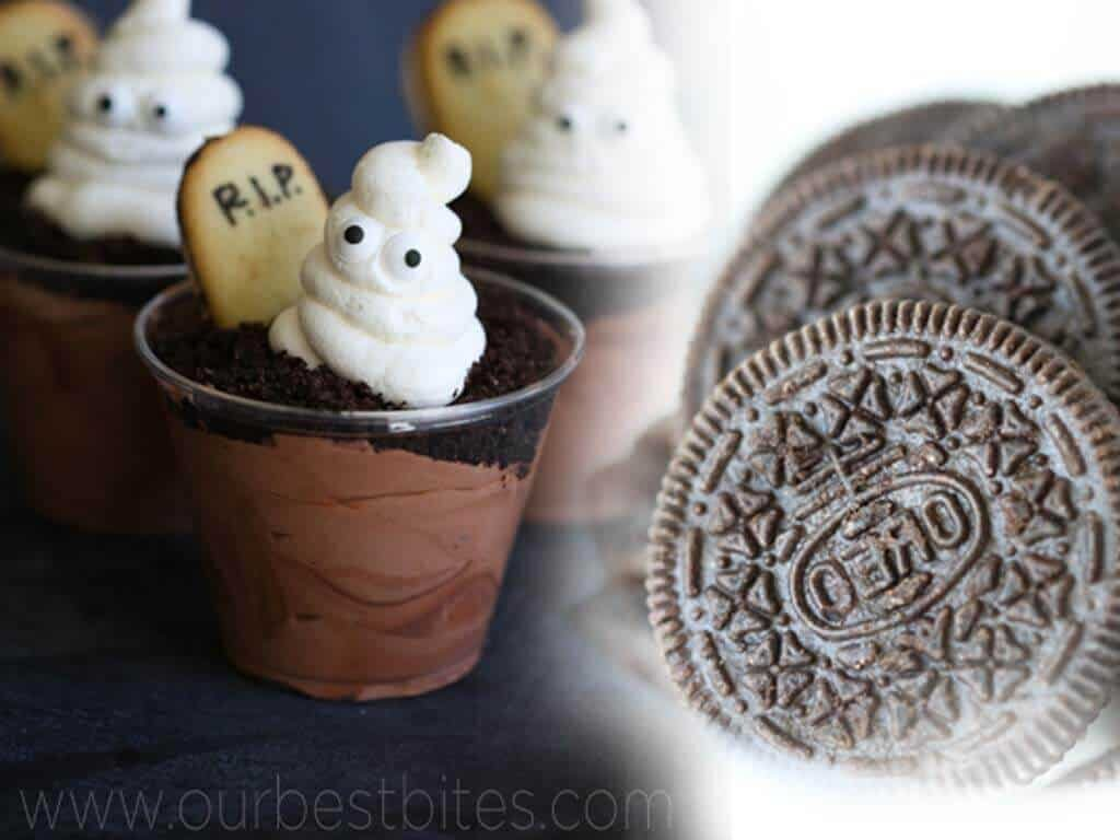 Ghosts in the Graveyard Puddings