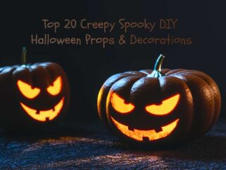 Creepy Spooky DIY Halloween Props Decorations