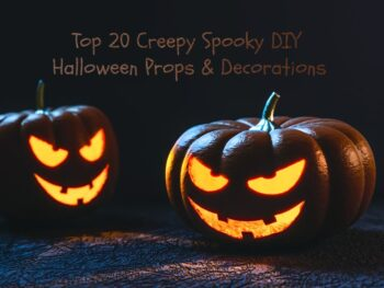 Creepy Spooky DIY Halloween Props Decorations