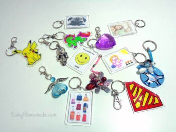 How To Make Amazing Keychains With Beads, Charms & Pendants