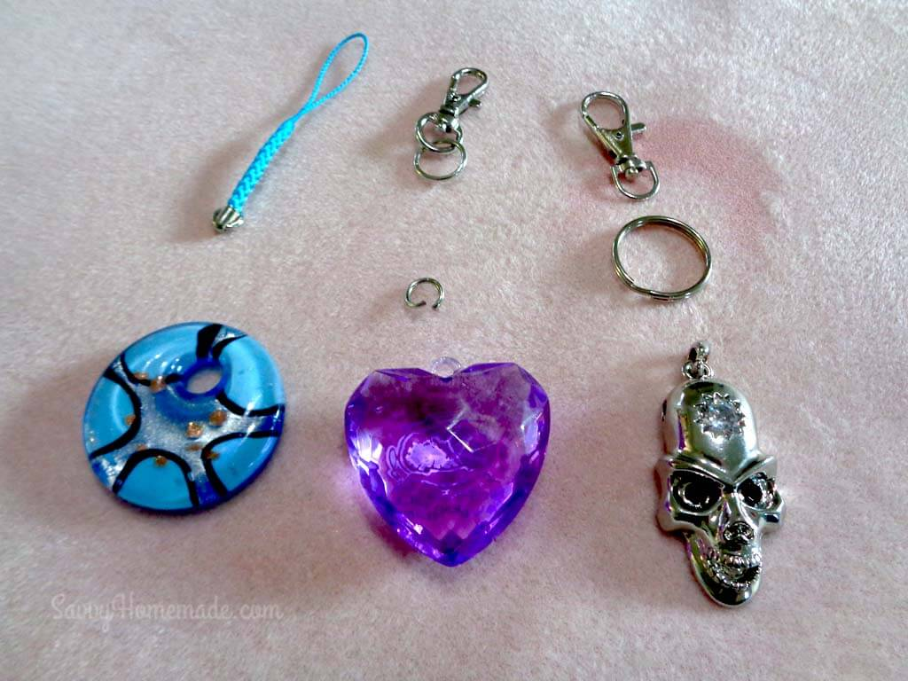 what you need to make pendant keychains