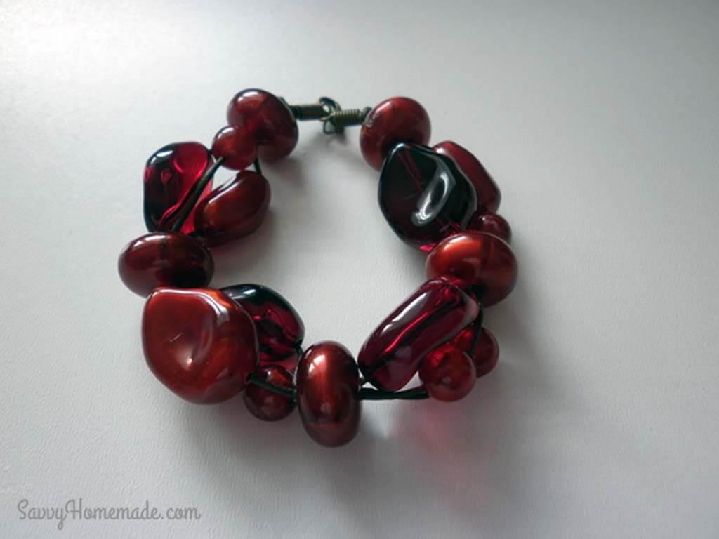 DIY Multi Strand Bracelet