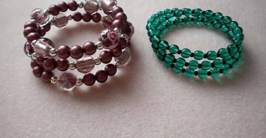 The quick memory wire bracelets DIY