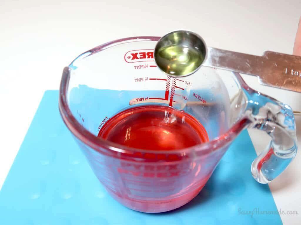 add essential oil or fragrance