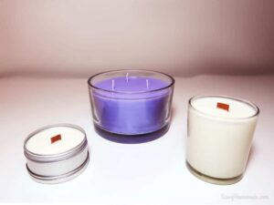 Learn everything you need to know about candle wicks and wicking