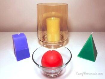 DIY candles that look fantastic