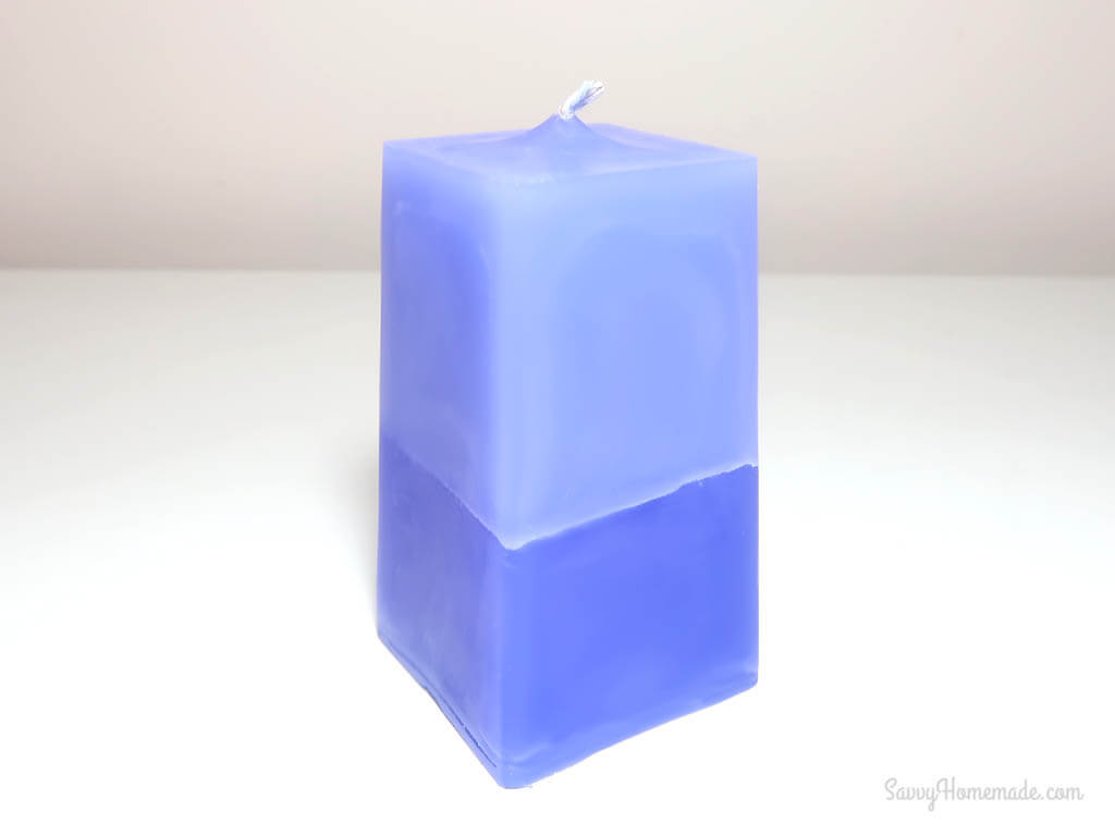 DIY multi colored candle that will impress your friends