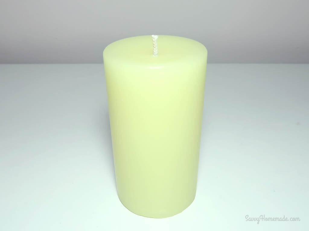 diy pillar candle that will impress your friends