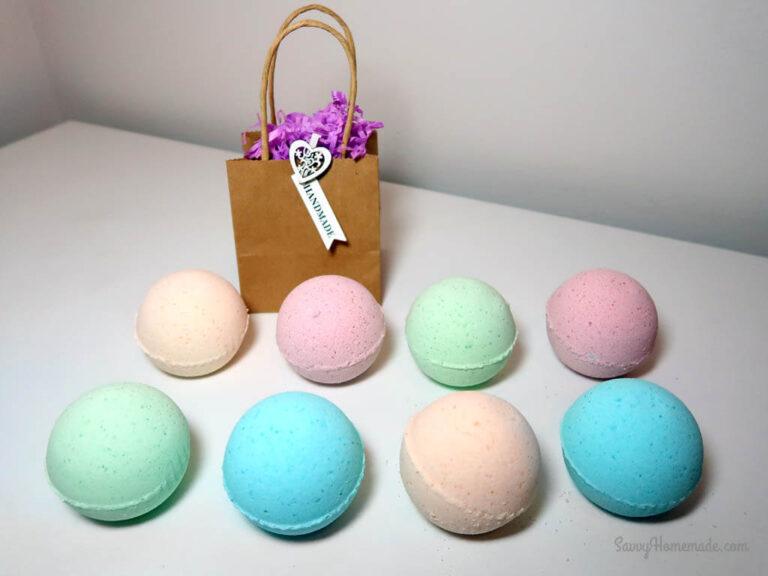 my best diy bath bombs