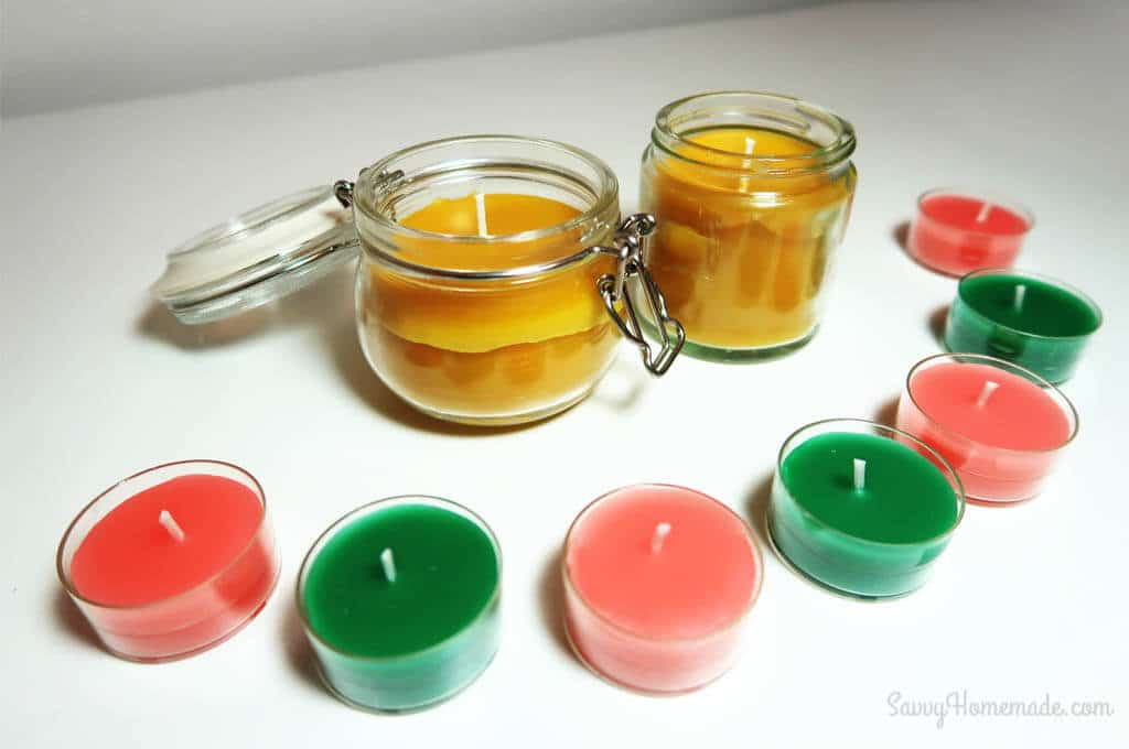 DIY Beeswax candles are both fun and easy to make.