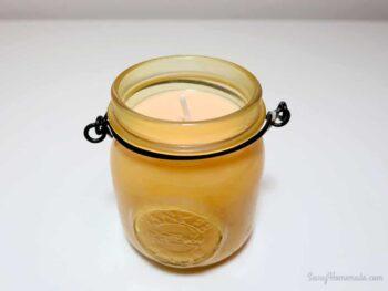 Making DIY Citronella Candles