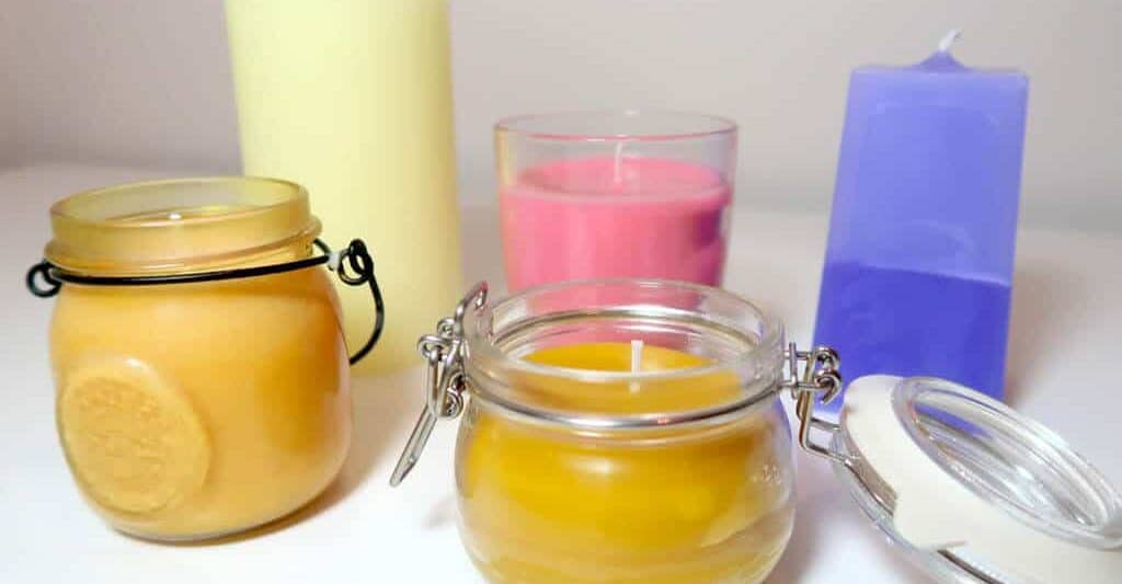 How to make organic soy candles at home