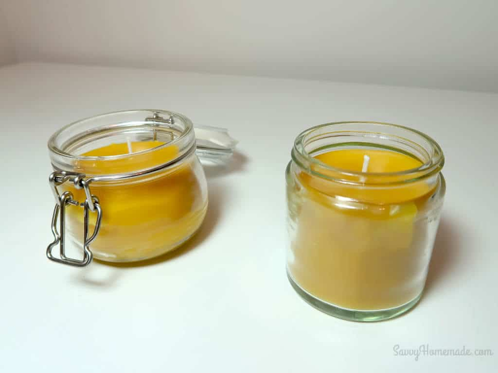 Homemade beeswax candles are the perfect gift for your friends and family