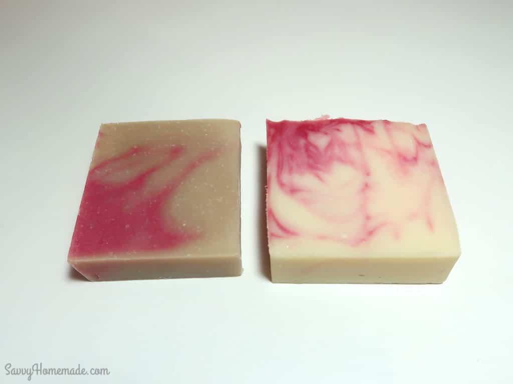 How Vanilla Fragrance Oil Discolors Soap
