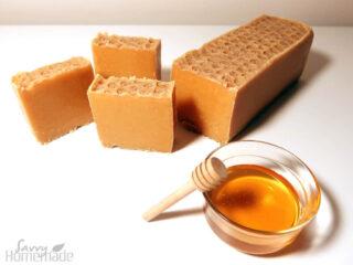 My amazing honey comb soap recipe!