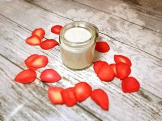 Luxurious Natural Face Moisturizer Recipe with Rose and Argan Oil