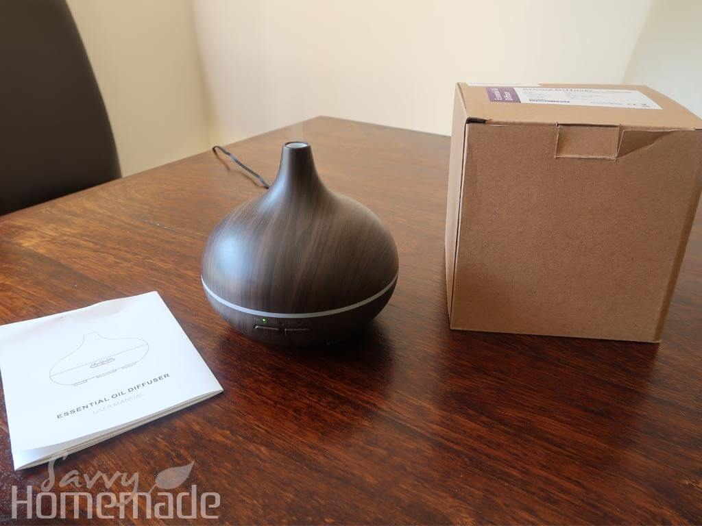 You Need a Diffuser: When unboxing your diffuser, always take a look at the instructions first
