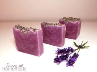 my best lavender hot process soap recipe