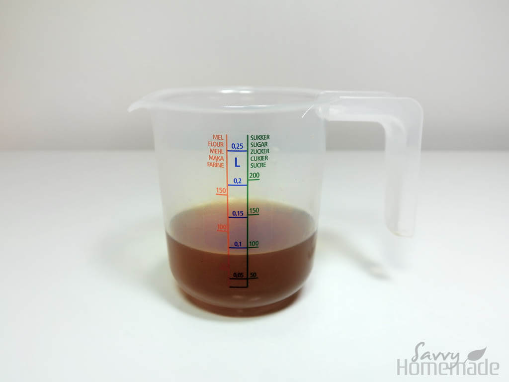 My best flu remedy i: collect the liquid in a small jug, then set aside