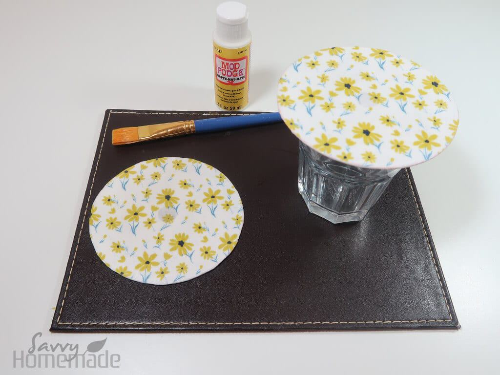 how to make diy coasters g
