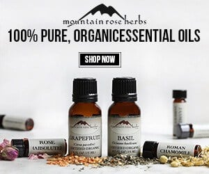 Mountain Rose essential oils