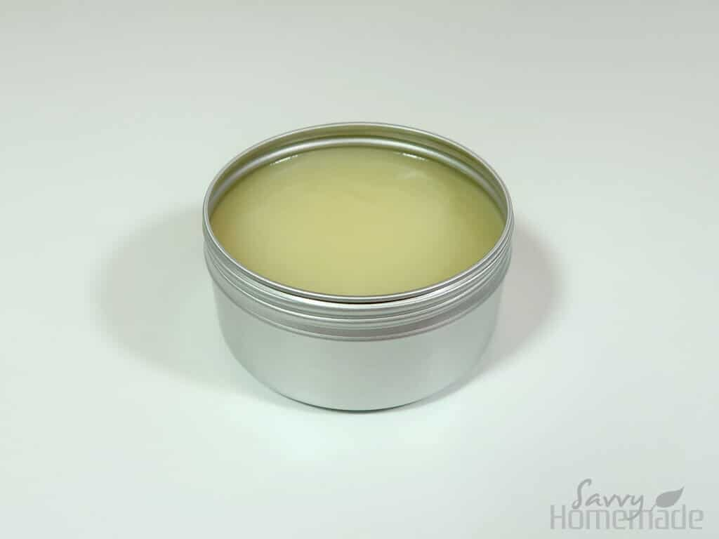 transfer to your chosen container, and you're all finished with this DIY body butter recipe!