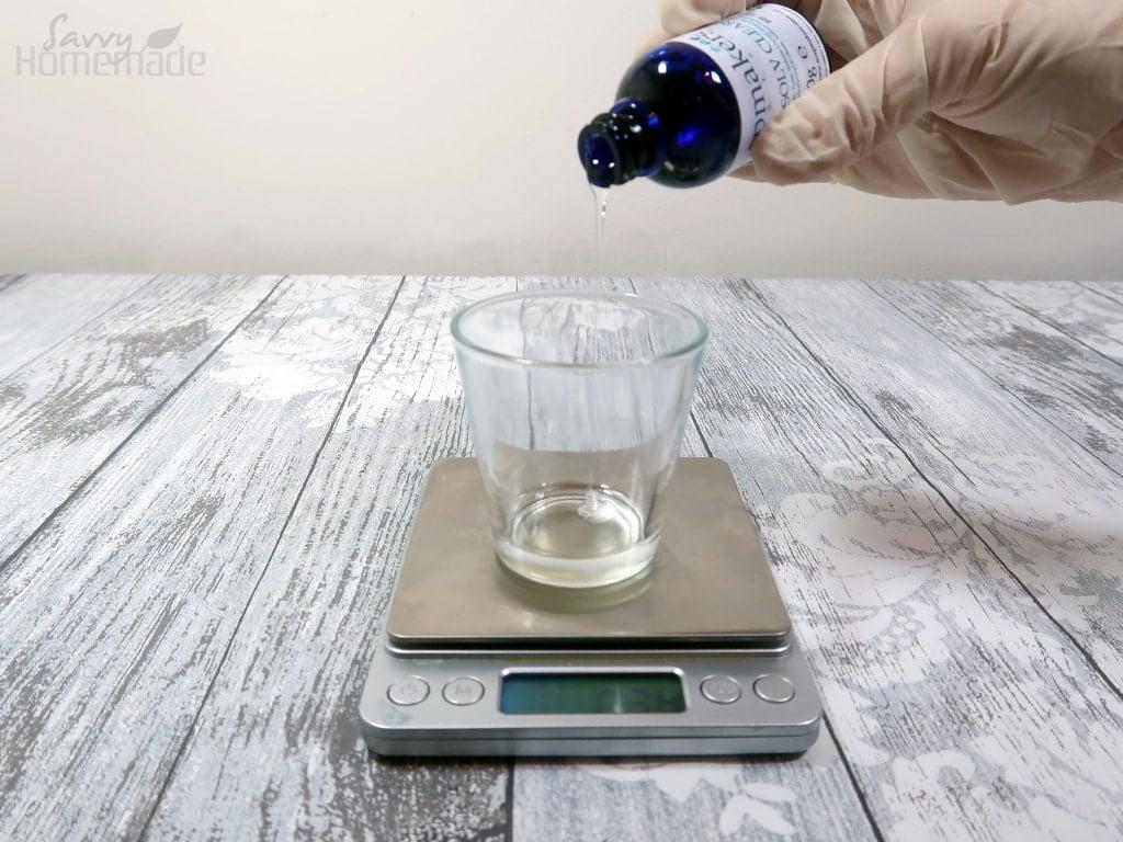 step 6: Add the solubilizer