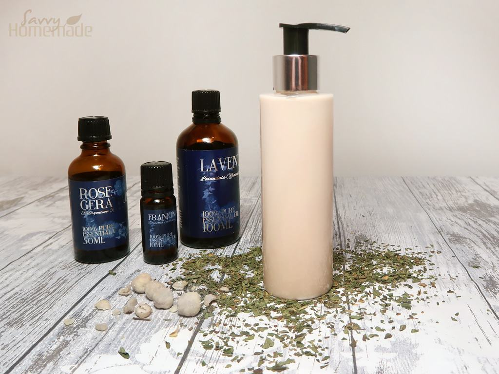 my best diy body lotion for dry and mature skin
