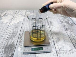 Step 5: Add the essential oil