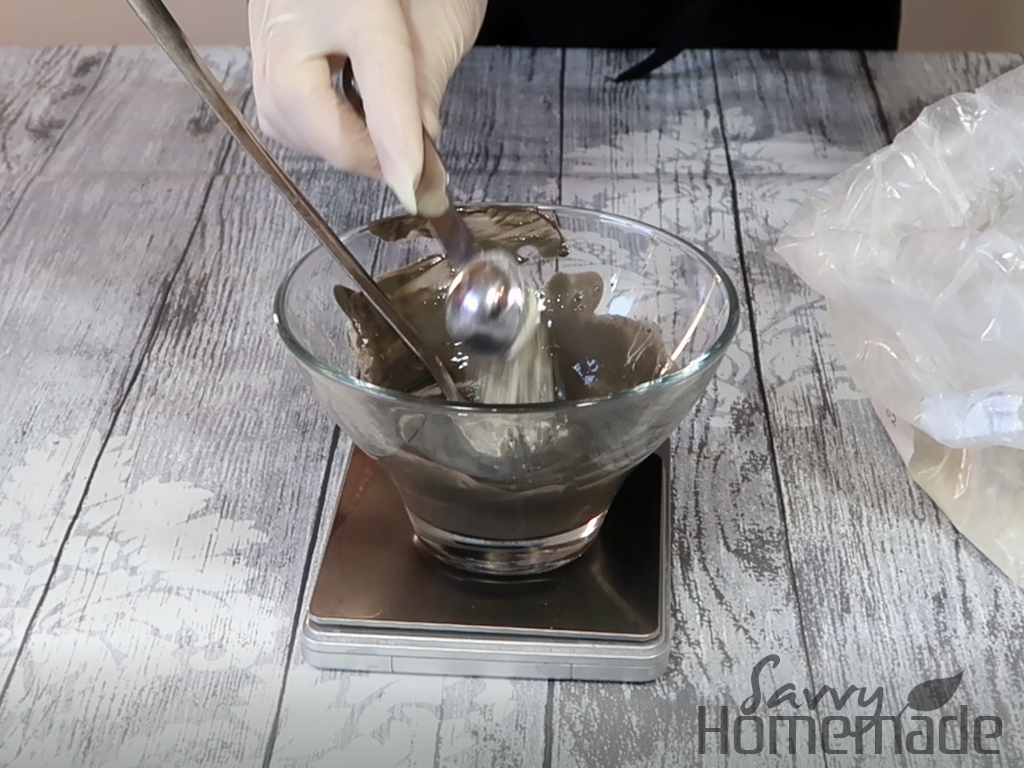 add a little more water until it's a good texture