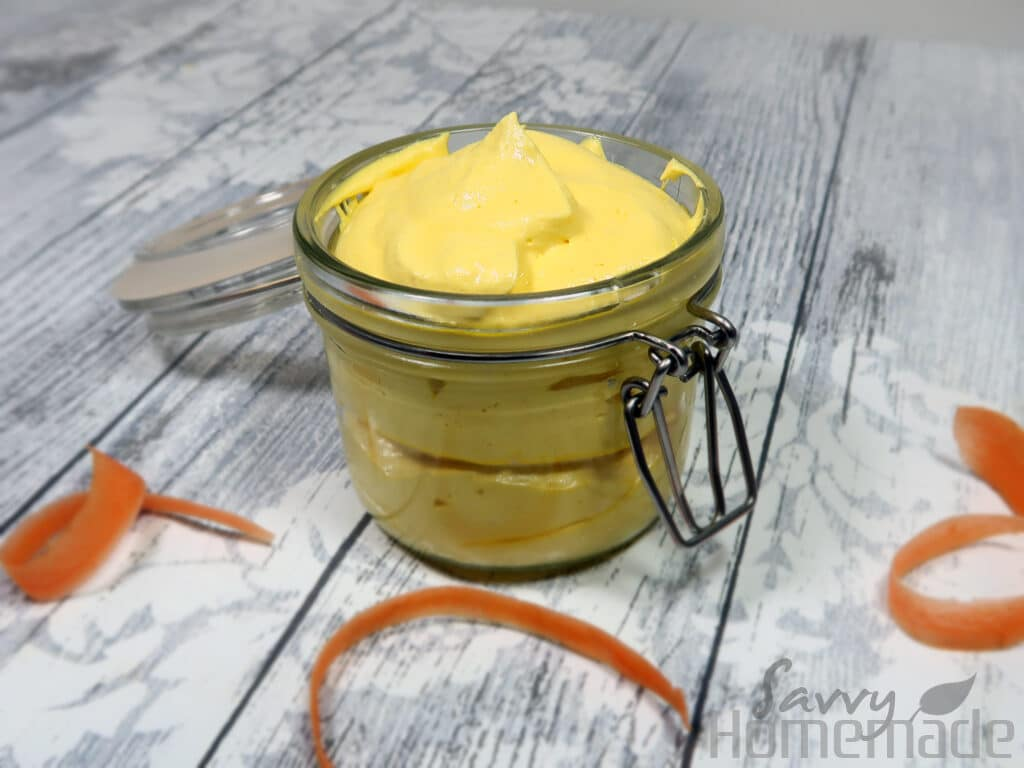 carrot infused winter skin body butter