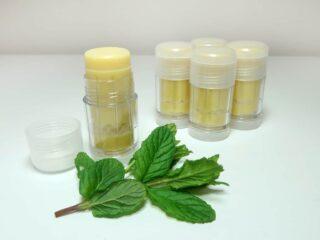 diy menthol lotion bar