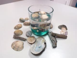 DIY Gel Candle With Underwater Imbeds