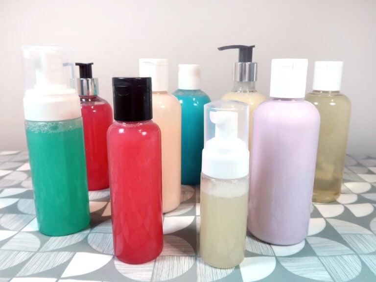 DIY liquid soaps