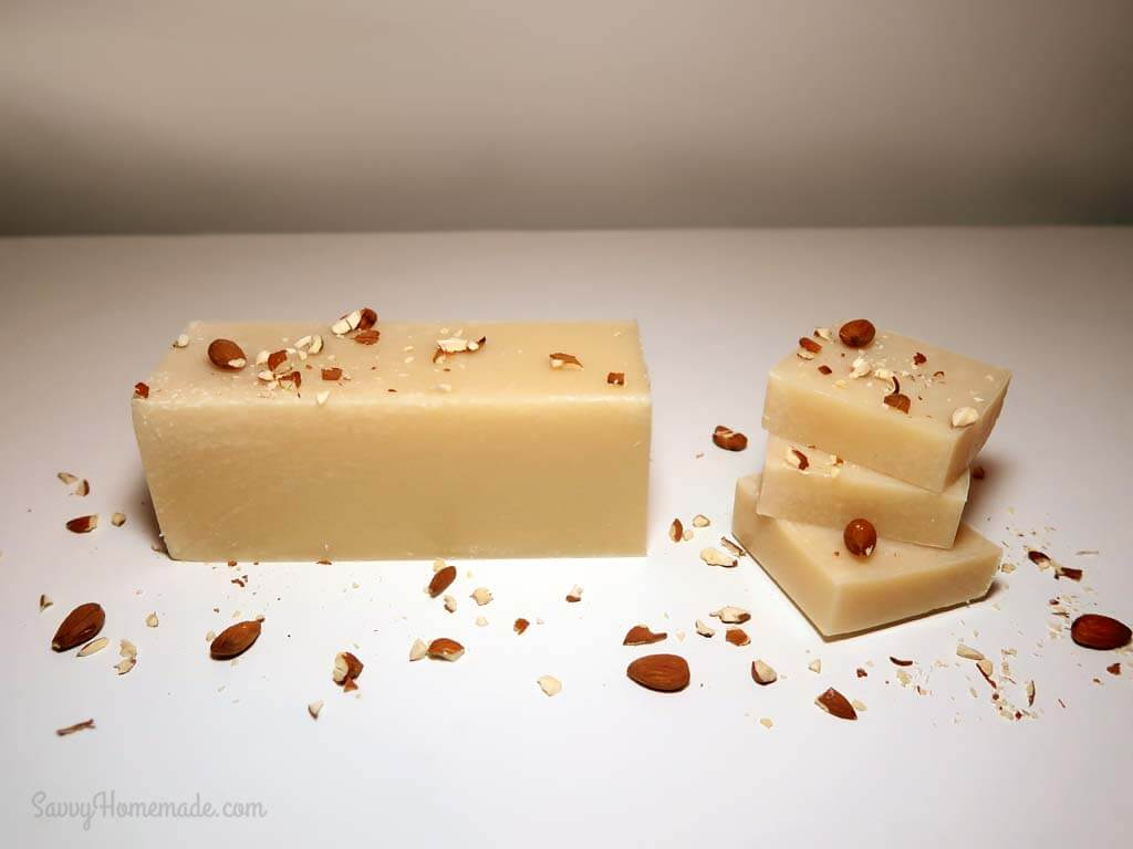 homemade soap that leaves skin feeling soft and smooth