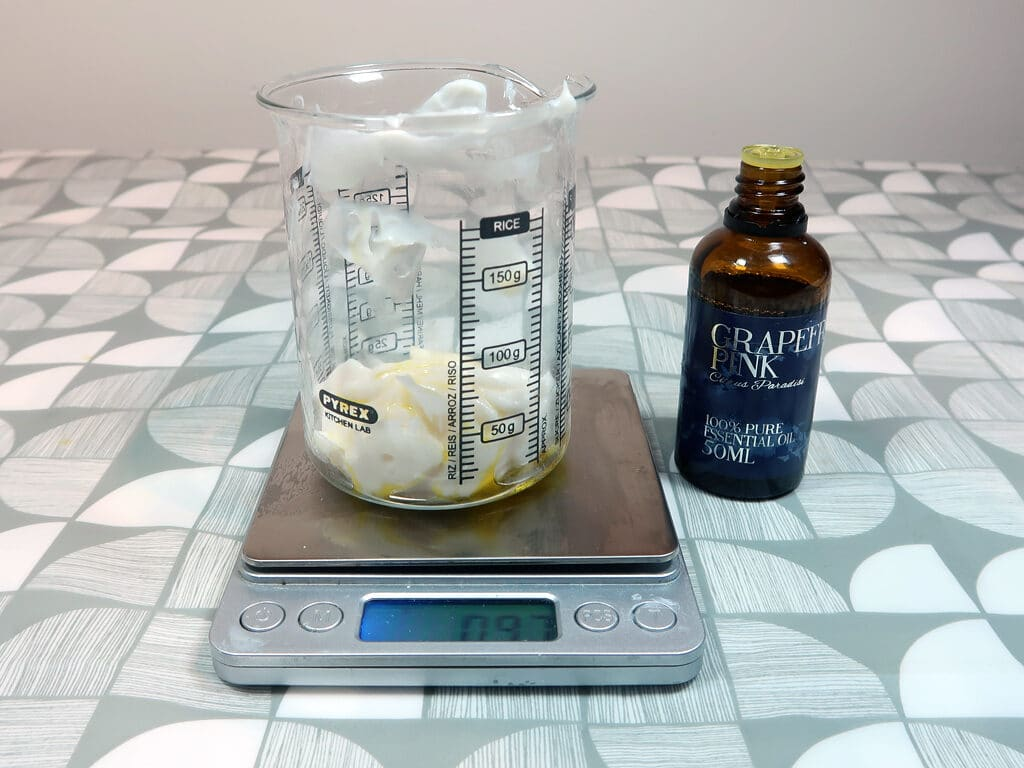 Step 8: Add the essential oils