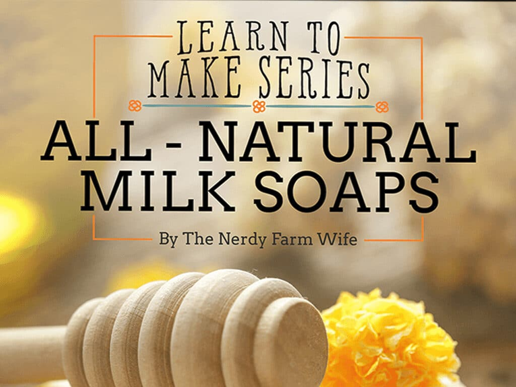 how to make natural milk soap