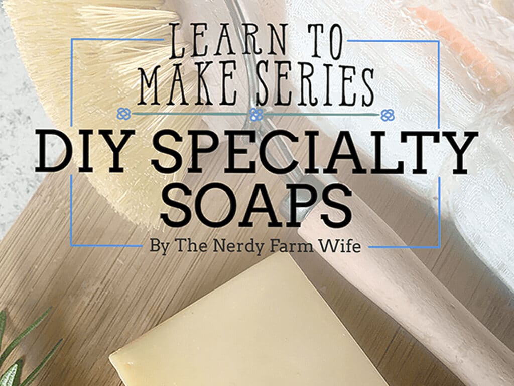 DIY speciality soapmaking