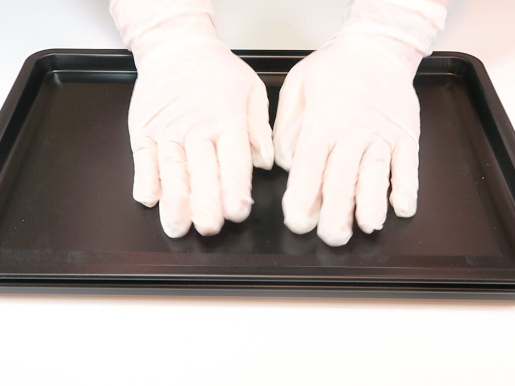 Two baking trays