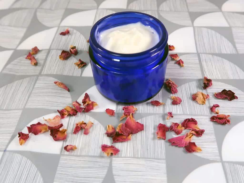 natural homemade face cream