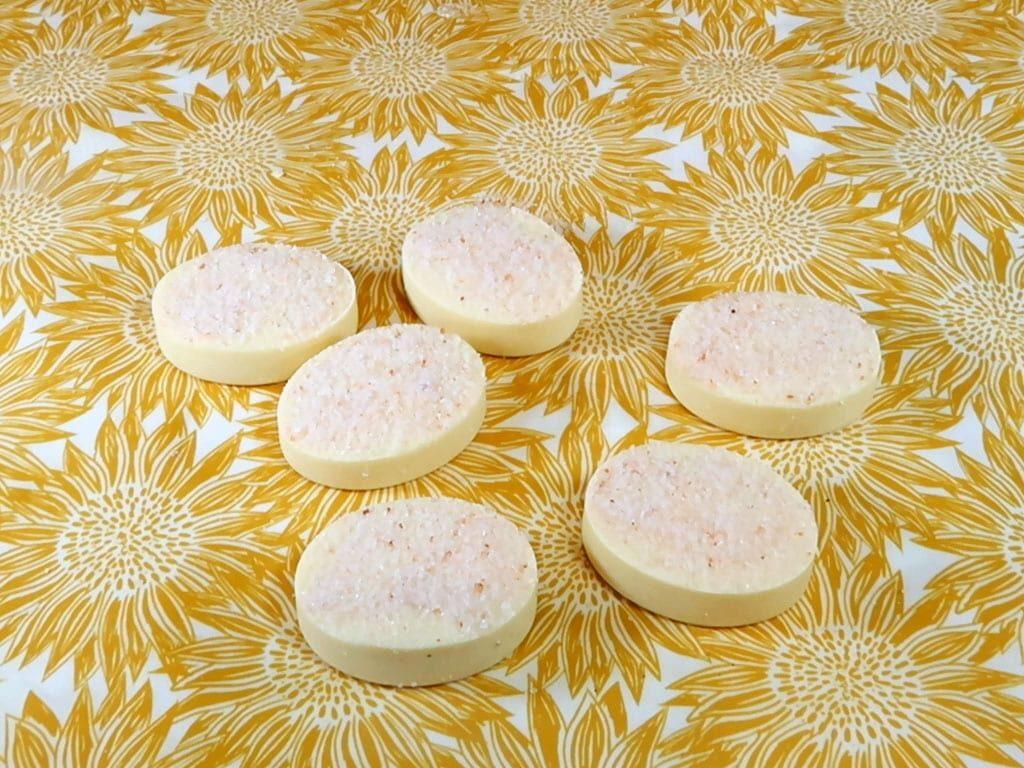 homemade salt soap bars