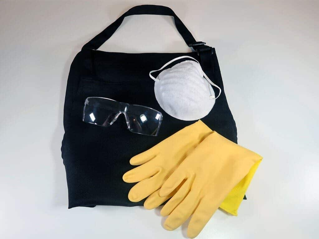 soapmaking PPE